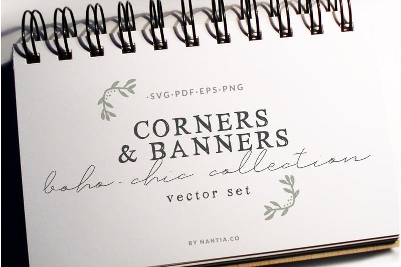 boho-chic-corners-vectors