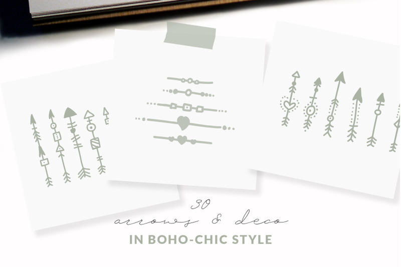 boho-chic-arrows-amp-deco-vectors
