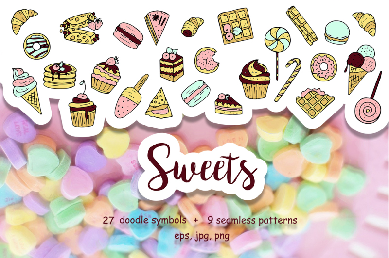 hand-drawn-doodle-sweets