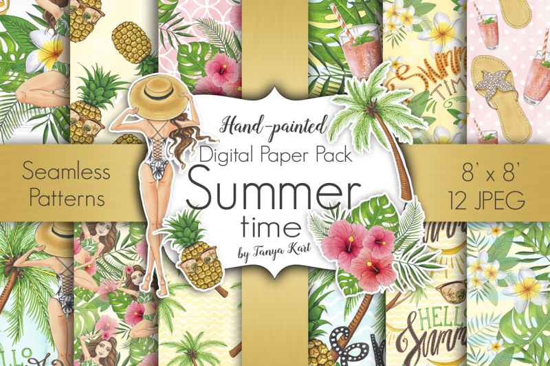 summer-time-hand-painted-collection