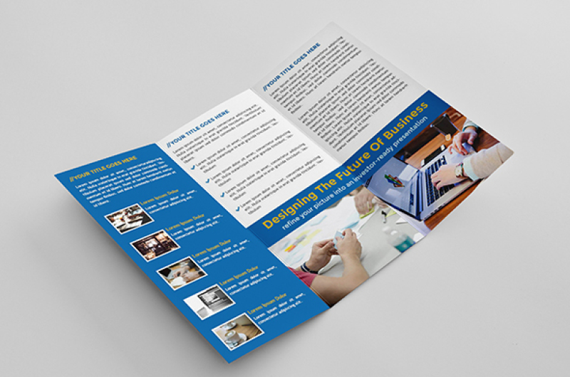 blue-trifold-brochure