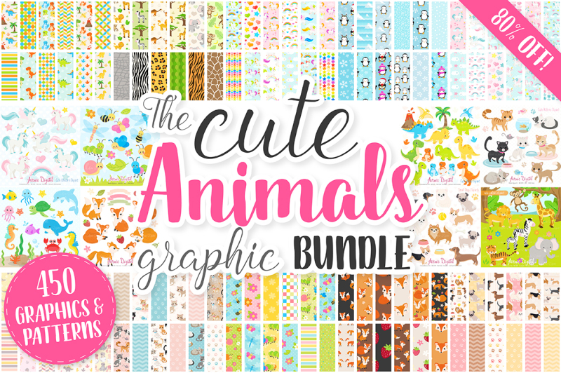 cute-baby-animals-clip-art-graphics-and-digital-papers-patterns-bundle