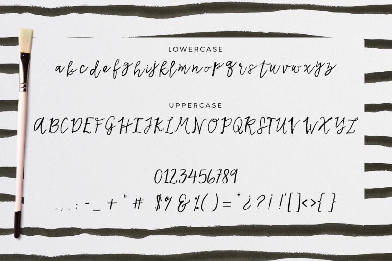 kata-cursive-handmade-font
