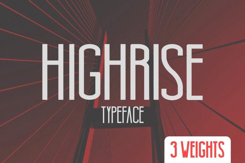 highrise-typeface