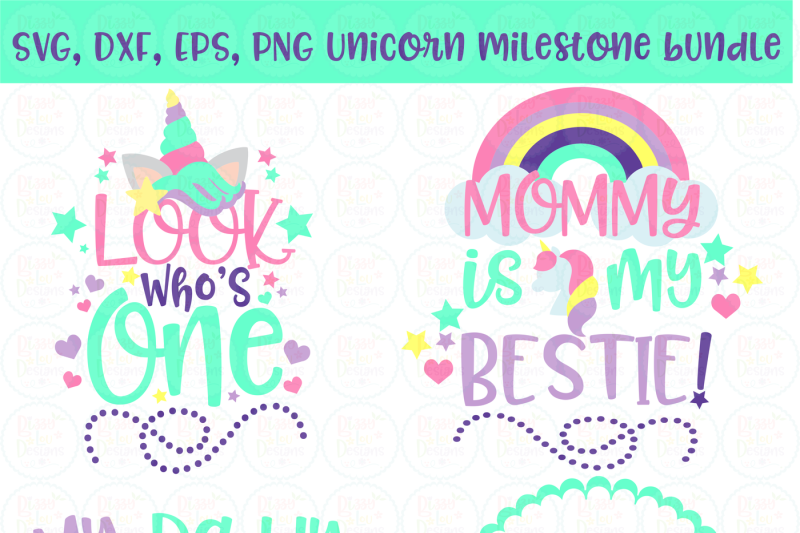 unicorn-baby-mileston-bundle-svg-dxf-eps-png