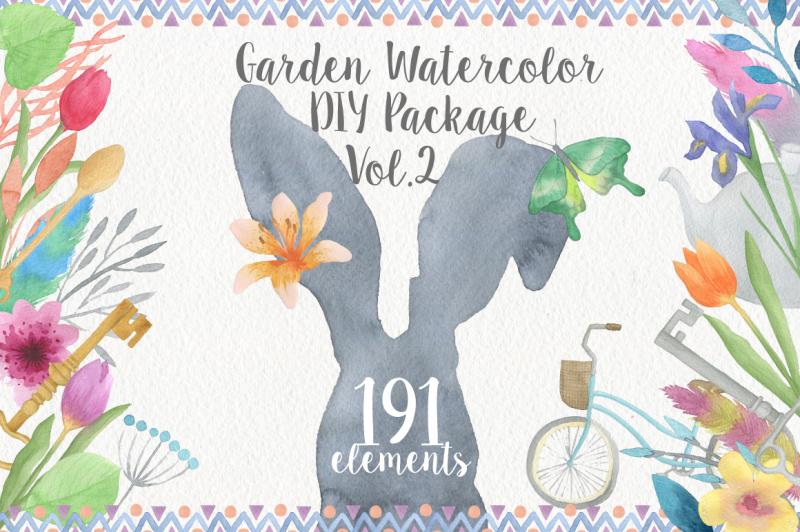 garden-watercolor-diy
