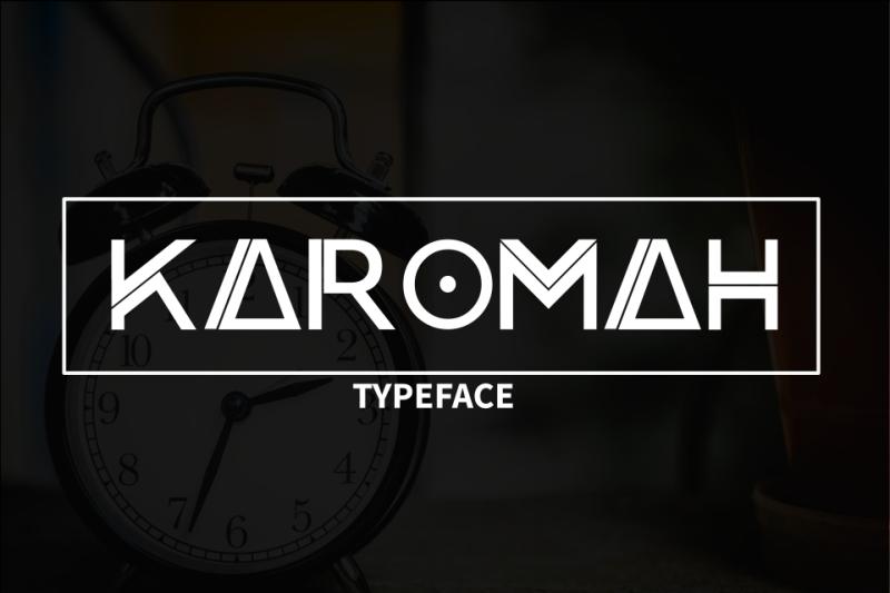 karomah-typeface-font