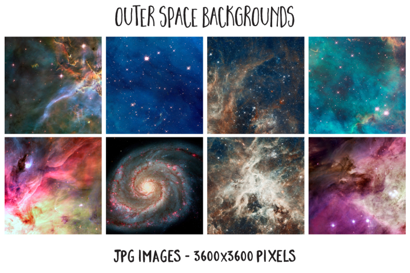 outer-space-vector-set