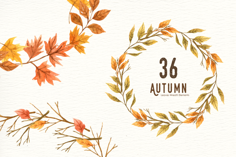 autumn-leaf-watercolor-clipart