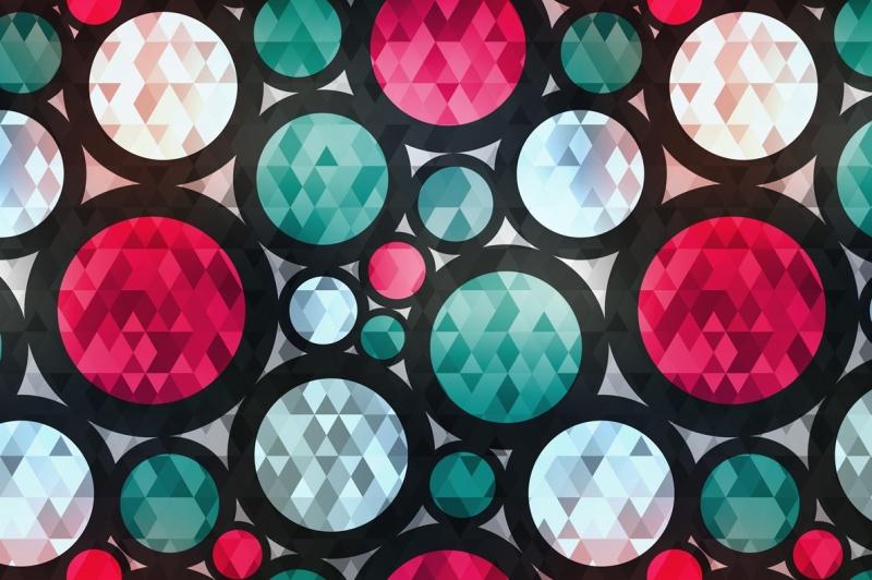 circle-vector-patterns-pack