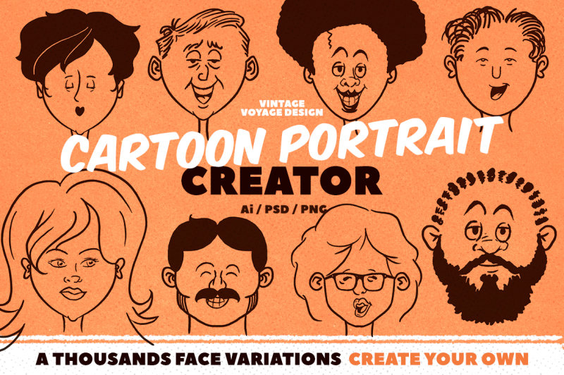 cartoon-portrait-creator