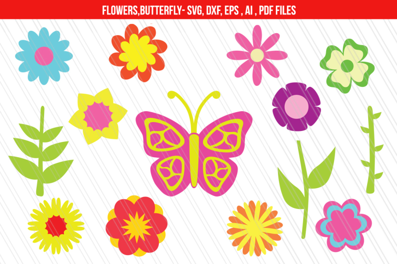 flowers-clipart-svg-dxf-cut-files
