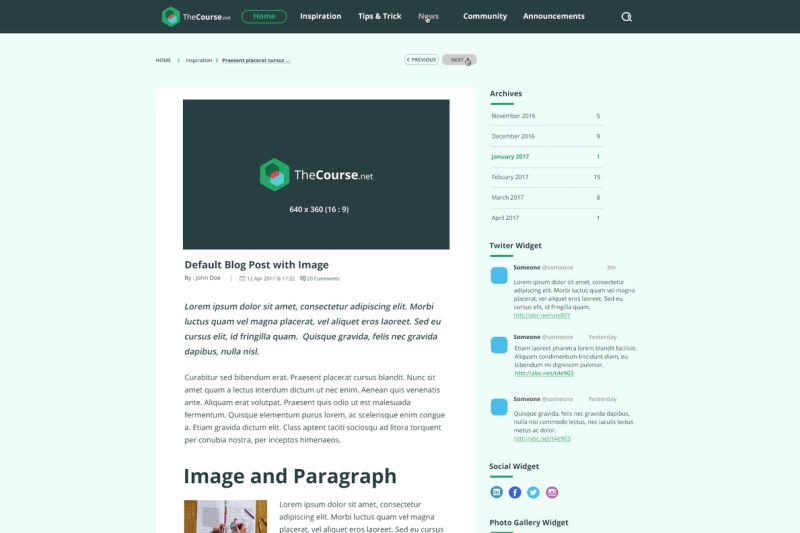 thecourse-multi-purpose-education-psd-template