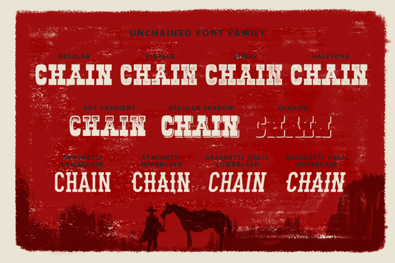 unchained-font-family