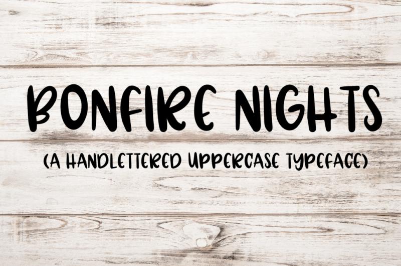bonfire-nights-a-handwritten-font