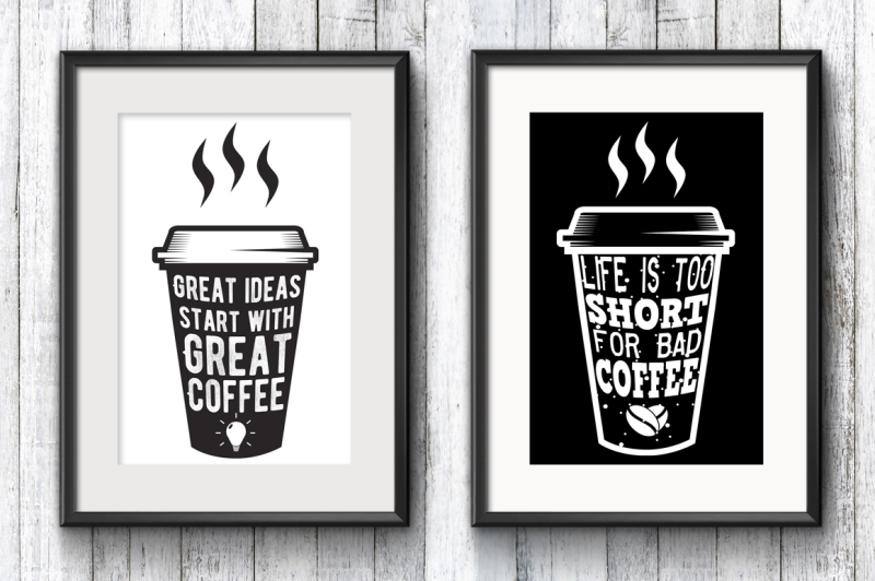 18 Coffee Quotes Citations On Paper Cups By Siberian Art