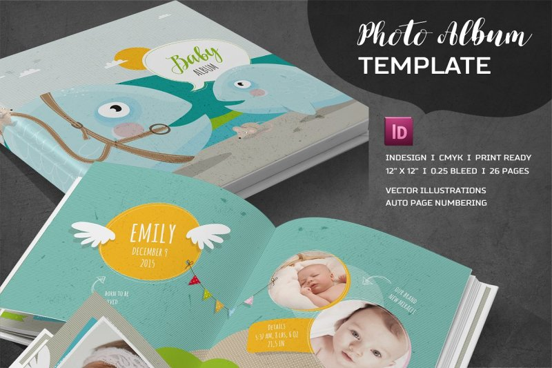 indd-and-psd-album-template