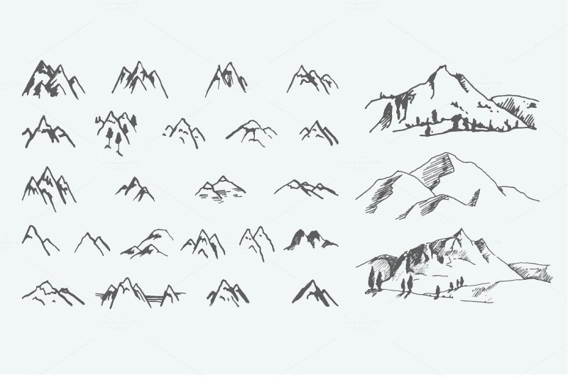 pack-of-12-mountains-logo-62-icons