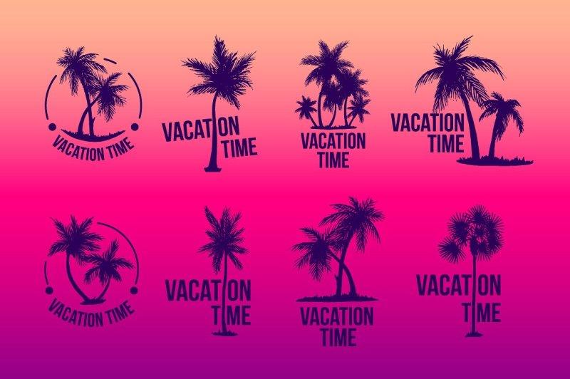 8-tropical-palm-logo-illustration