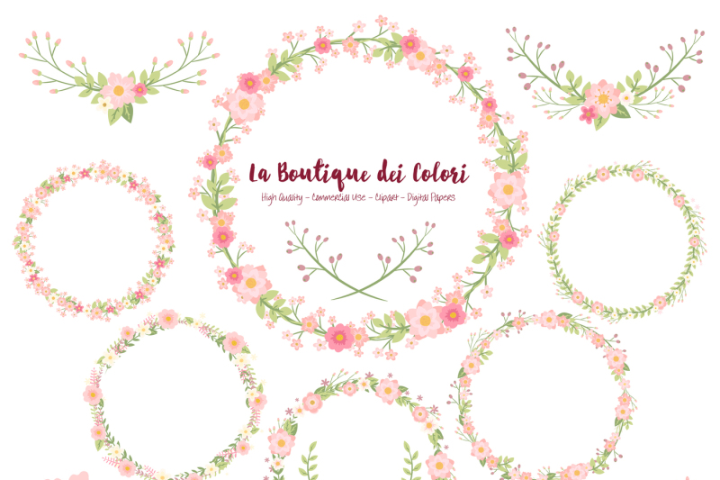 pink-floral-wreath-clipart