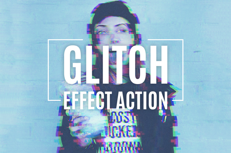 glitch-effect-action