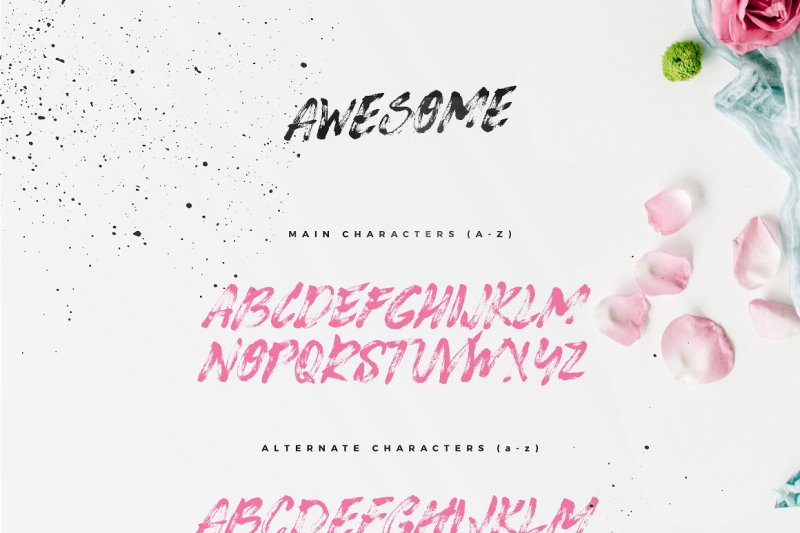awesome-typeface
