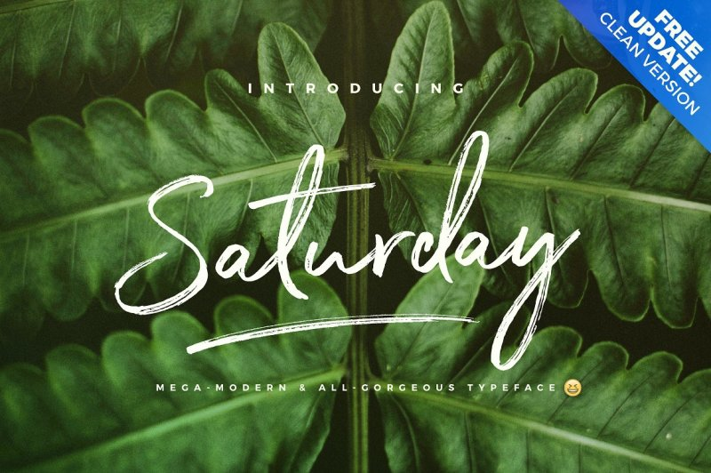 the-saturday-typeface