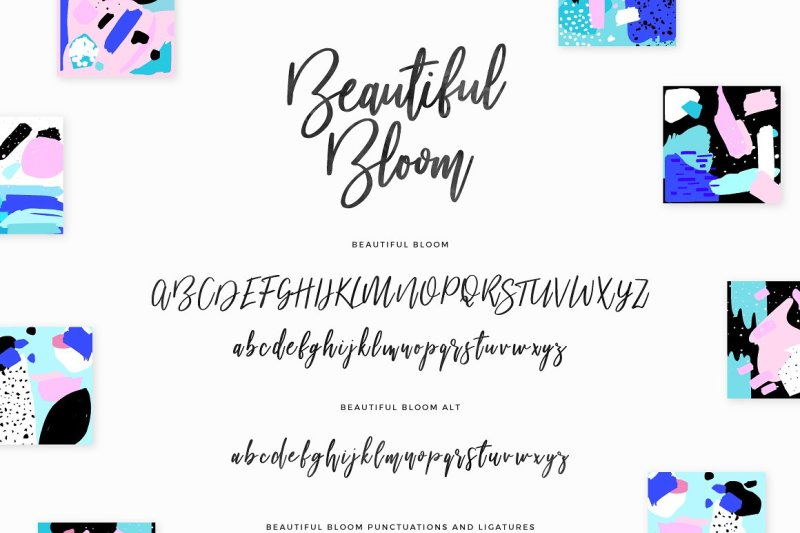 beautiful-bloom-typeface