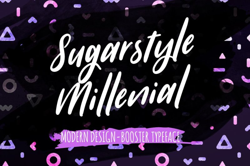 sugarstyle-millenial-typeface