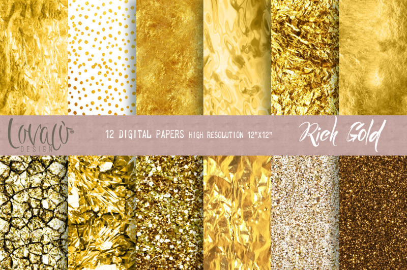 rich-gold-digital-papers-and-textures
