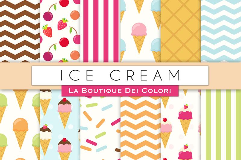 ice-cream-digital-papers