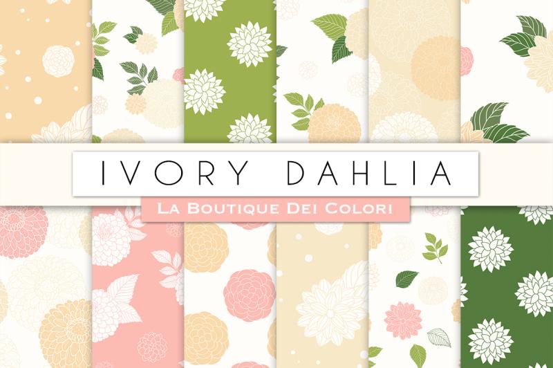 ivory-dahlia-flower-digital-papers
