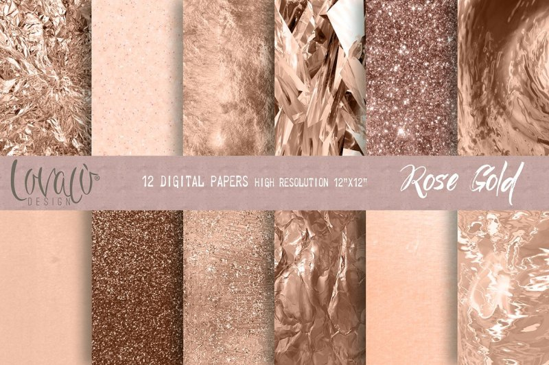 luxury-rose-gold-digital-papers