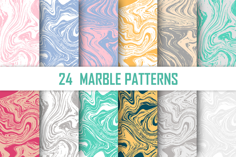 24-marble-vector-patterns