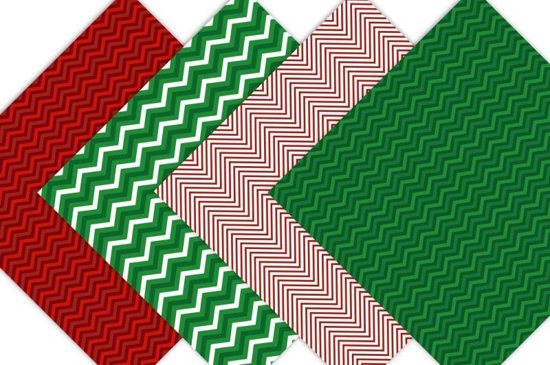 christmas-chevron-patterns