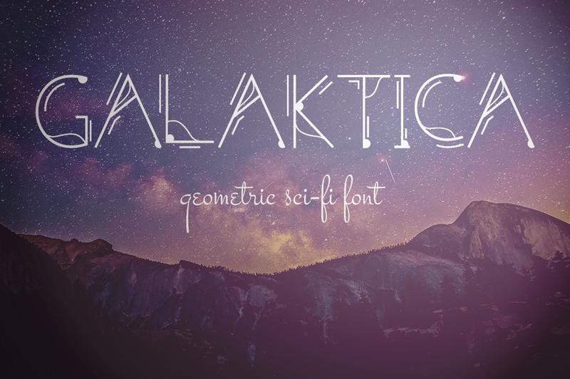 galaktica-font