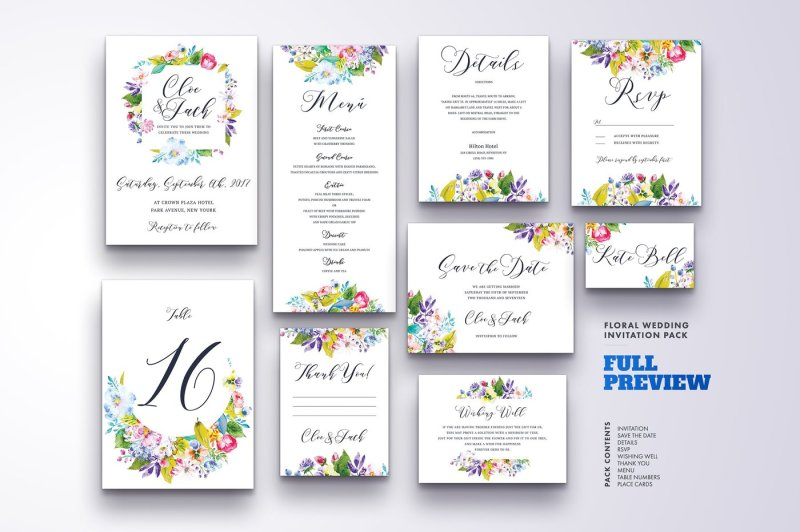 floral-wedding-invitation-bundle