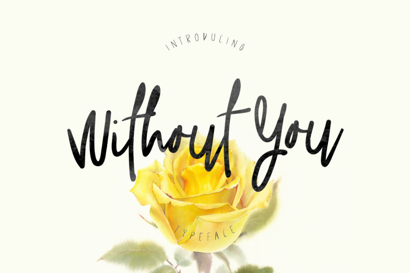 without-you-typeface