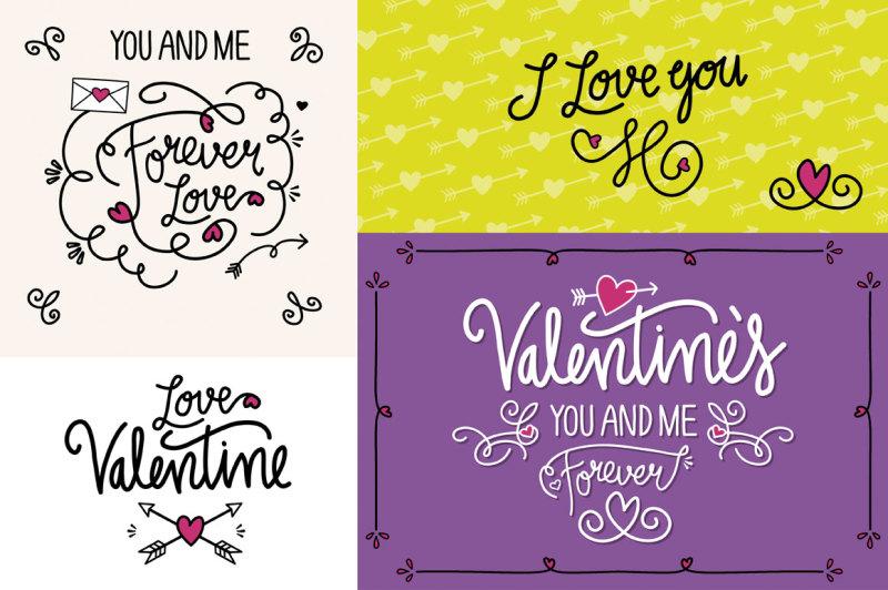 valentine-s-vector-doodle-set