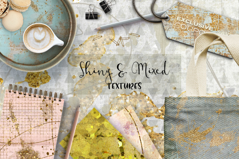 shiny-and-mixed-textures