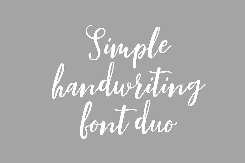 blishfully-font-duo