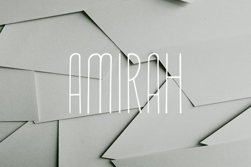 amirah-display-font