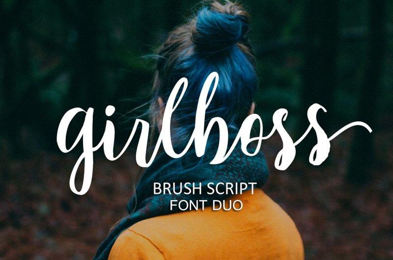 girlboss-font-duo