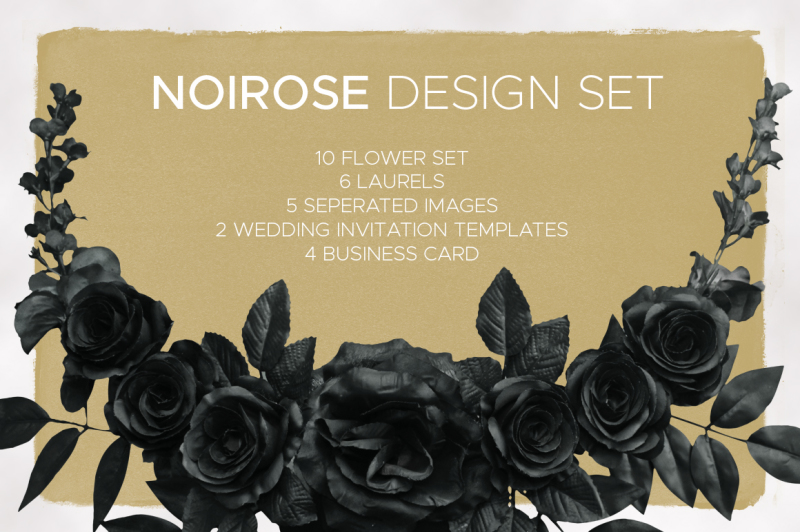 noirose-wedding-design-set