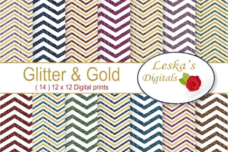 glitter-and-gold-chevron