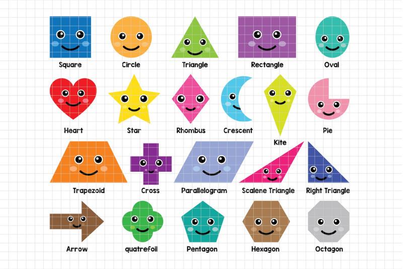 fun-shapes-digital-clipart-les-cl44
