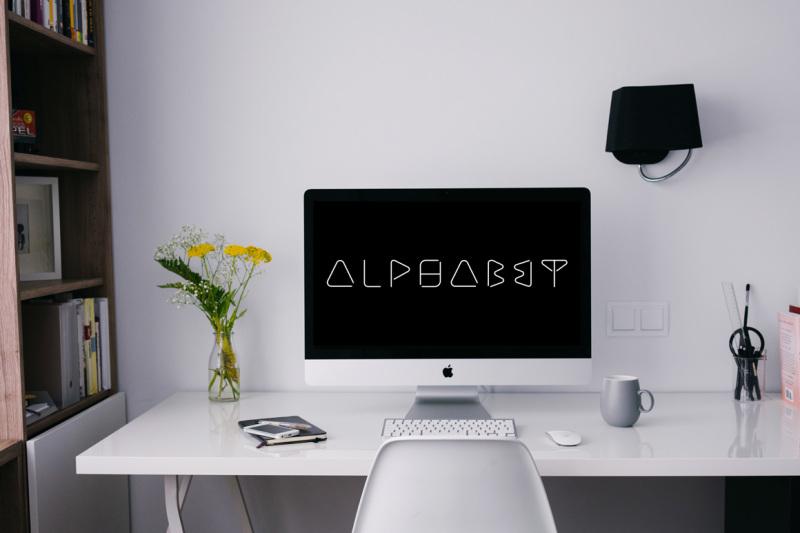 creative-minimalistic-font-b-and-w