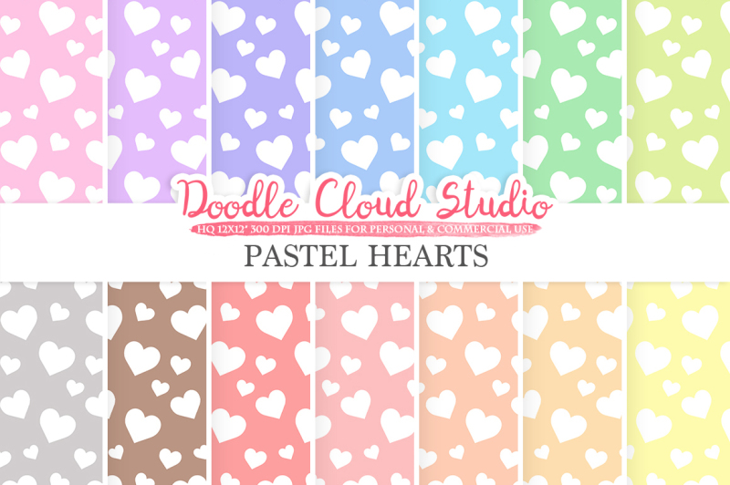 pastel-hearts-digital-paper-hearts-patterns-digital-hearts-pastel-colors-background-instant-download-for-personal-and-commercial-use