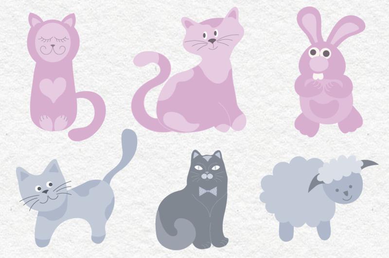 animals-vector-set