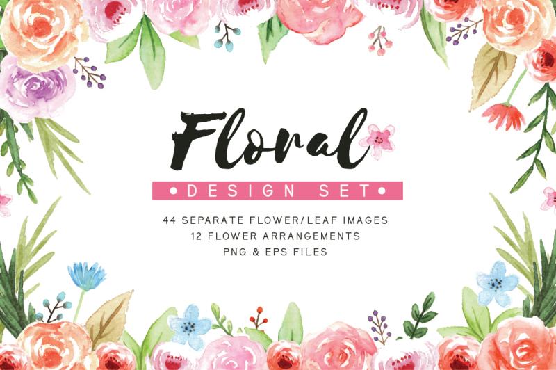 floral-design-set